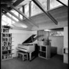 Interior view of F. Pressburger residence, North Hollywood, 1945