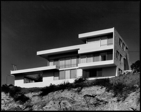 Exterior view of the Fitzpatrick House, Los Angeles, 1936