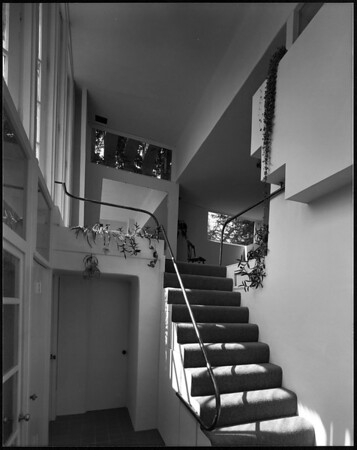 Interior view of the Elliot House, Los Angeles, 1930