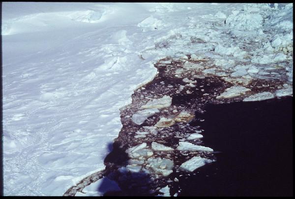 Ice in the Ross Sea [?], near Antarctica, 1980s-1990s