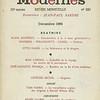 Cover of Les temps modernes, 20e année, no. 223, 1964