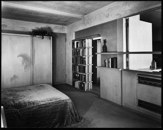 Interior view of the Westby House, Los Angeles, 1938