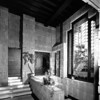 Interior view of the Ennis-Brown House, Los Angeles, 1923-1924