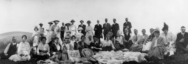 Feast of Kamá (Perfection) on Rose Hill, Los Angeles, 1916