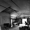 Interior view of the Hollyhock House, Los Angeles, 1921