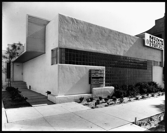 Exterior view of the Sunset Medical Building, Los Angeles, 1936