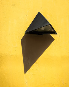 Shadow on Yellow