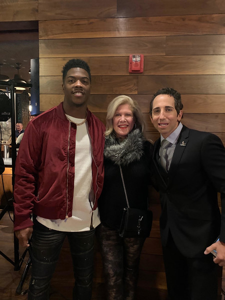 The Z-List with Patriots linebacker Brandon King and sports agent Sean Stellato of Woburn