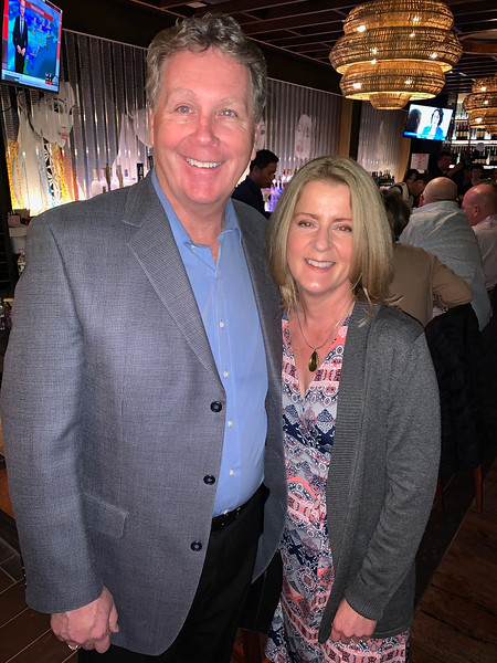 Brian Burke of Littleton and Brenda Dobben of Harvard