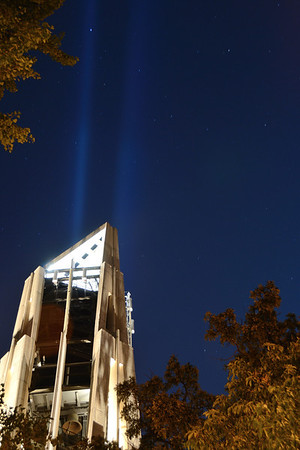 Beams of Light - 9/11 Tribute - 2011 - Naperville, Illinois