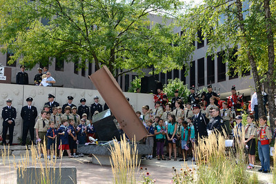 9/11 Tribute Ceremony - 10 Year Anniversary - Naperville, Illinois - 2011