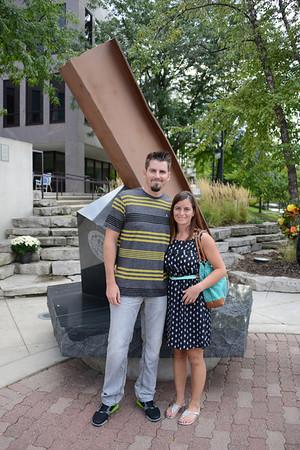9/11 Tribute Ceremony - 12th Year Anniversary - Naperville, Illinois - 2013