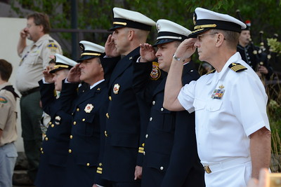 9/11 Tribute Ceremony - 14th Year Anniversary - Naperville, Illinois - 2015 - Michael Dugan was our guest speaker