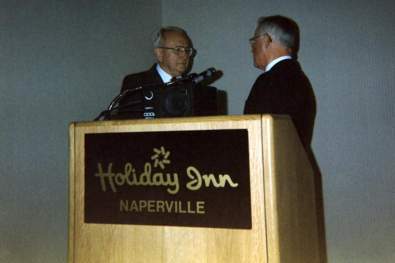 Exchange Club of Naperville - Book of Golden Deeds - November, 1993
