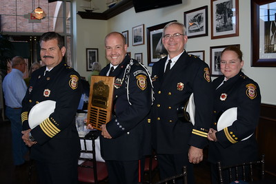 Firefighter of the Year - Art Rauch - Exchange Club of Naperville - October 16, 2015