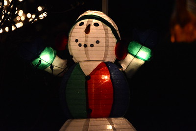 Exchange Club - Naperville, Illinois - Christmas Lights Trolley Ride - December 9, 2014
