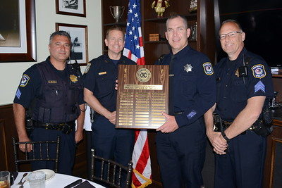 Exchange Club of Naperville Luncheon - Police Officer of the Year - June 2, 2017
