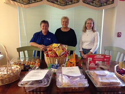 Exchange Club of Naperville - Community Service 2013 delivery to Ronald McDonald House near Loyola by Dawn Portner, Sandy Southworth and Trish Krenick