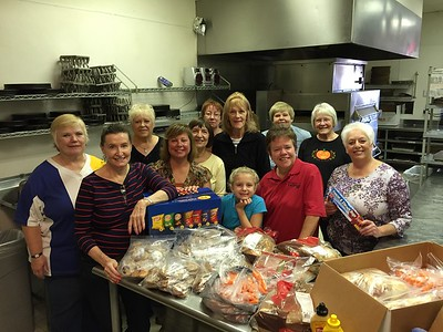 Exchange Club of Naperville - National Day of Service - Preparion for Ronald McDonald's House - 2014
