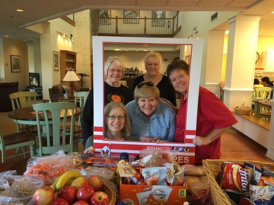 Exchange Club of Naperville - National Day of Service - Delivery of food to the Ronald McDonald House near Layola - 2014