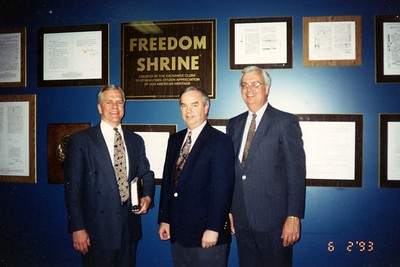 Exchange Club of Naperville - Freedom Shrine - June 2, 1993