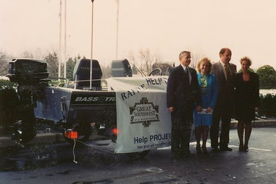 Exchange Club of Naperville - Boat Raffle - February, 1994
