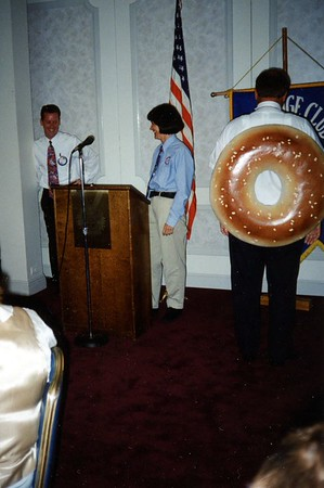 Exchange Club of Naperville - Bruegger's Bagel Bakery - August 12, 1994