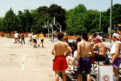 Exchange Club of Naperville - Street Feat - 3 on 3 Basketball Tournament - May, 1994