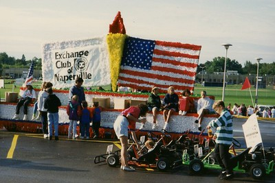 Exchange Club of Naperville - Labor Day Parade - September 6, 1993