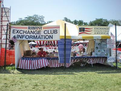 Exchange Club of Naperville - Ribfest - 2009