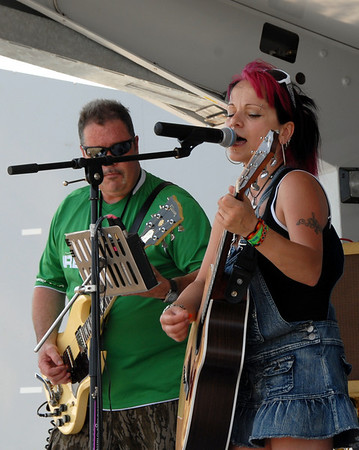 Ribfest - 2012 - Naperville, Illinois - Show Wagon - Voodoo Monkey Child