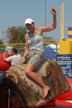 Ribfest - 2012 - Naperville, Illinois - Family Area - Bronc Riding