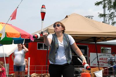 Ribfest - 2012 - Naperville, Illinois - Family Area - Games