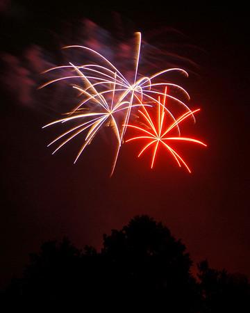 Ribfest - 2012 - Naperville, Illinois - Fireworks