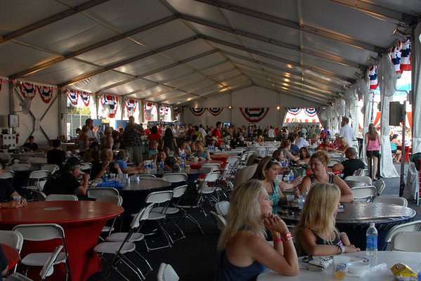 2012 - People - Sponsor Tent