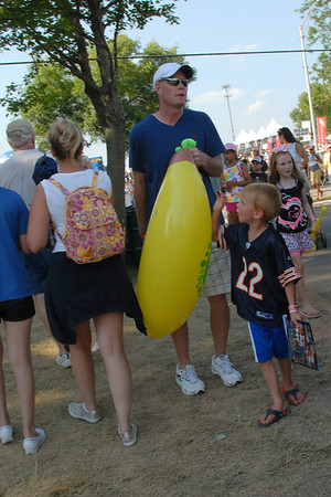 Ribfest - 2012 - Naperville, Illinois - People In The Crowd