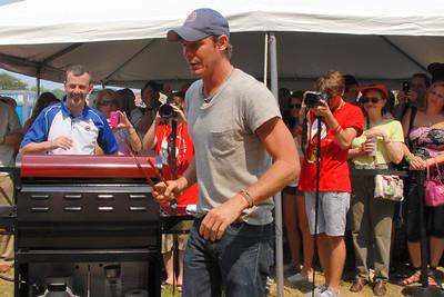 Ribfest - 2012 - Naperville, Illinois - Ty Pennington