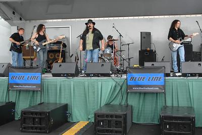 Ribfest - Naperville, Illinois - July 3-7, 2013 - Show Wagon - Blue Line