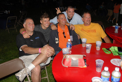 Ribfest - Naperville, Illinois - July 3-7, 2013 - People in the Sponsor Tent