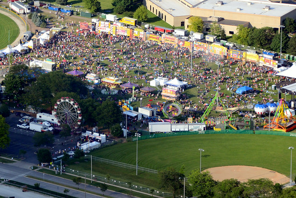 Aerial Shots of Ribfest