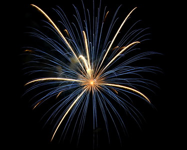 Ribfest 2015 - Naperville, Illinois - Sponsored by the Exchange Club of Naperville - Fireworks Display