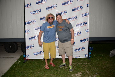 Ribfest 2015 - Naperville, Illinois - Sponsored by the Exchange Club of Naperville - Meet and Greet with Sammy Hagar