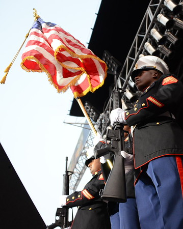 Ribfest 2015 - Naperville, Illinois - Sponsored by the Exchange Club of Naperville - The National Anthem and Honor Guard