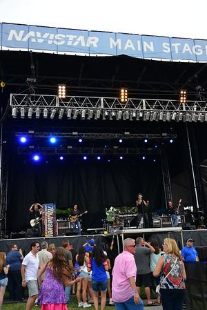 Ribfest 2016 - Naperville, Illinois - Navistar Stage - 7th Heaven