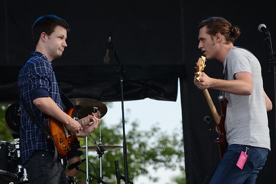 Ribfest 2016 - Naperville, Illinois - Ribber Row Stage - The Ents