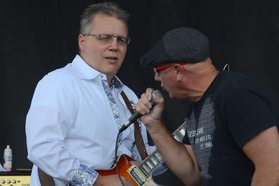 Ribfest 2016 - Naperville, Illinois - Ribber Row Stage - Hard Rock Fossils