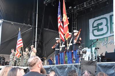 Ribfest 2016 - Naperville, Illinois - National Anthem
