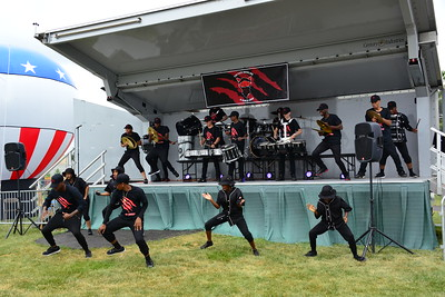 Ribfest 2016 - Naperville, Illinois - Show Wagon - The Pack Drumline & Dance Crew