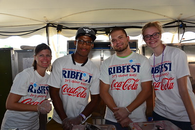 Ribfest 2016 - Naperville, Illinois - Volunteers