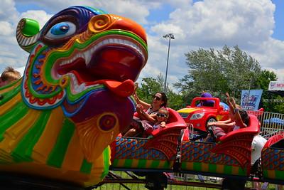 Ribfest 2017 - Naperville, Illinois - Carnival